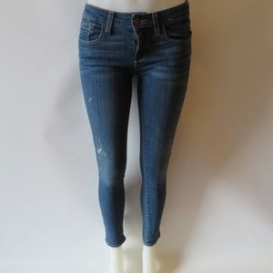 PILCRO AND THE LETTER PRESS ANKLE SKINNY JEANS 25